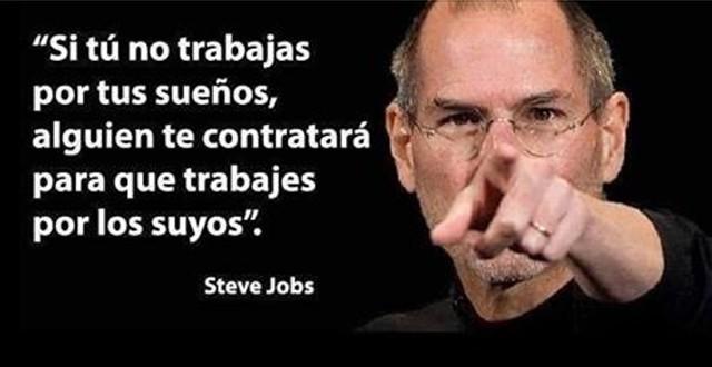 Porque Steve Jobs es un ejemplo de perseverancia
