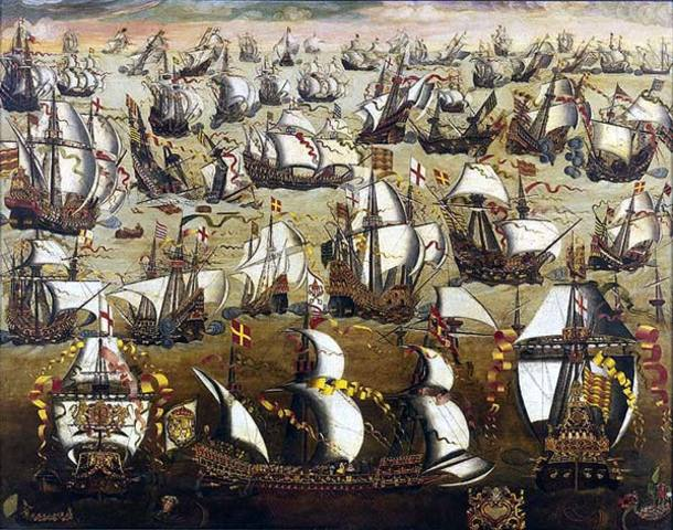 Sir Francis Drake defeated the Spanish Armada.
