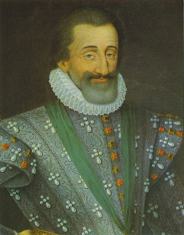 Henry IV of France issued the Edict of Nantes.