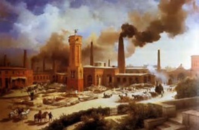 •Industrialization Begins to Boom