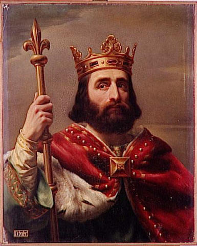 Charles Martel defeated the Muslims
