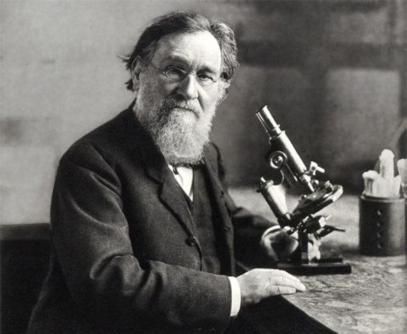 Metchnikoff se transformó de naturalista en cazador de microbios.