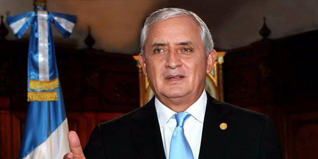 Otto Perez Molina (2012 - 3 septiembre de 2015)