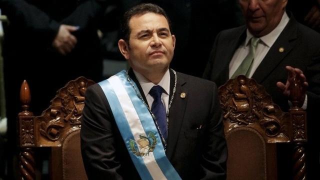 Jimmy Morales (2016-actualidad)