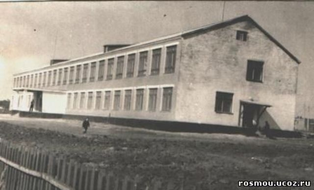 Построено здание современной школы.