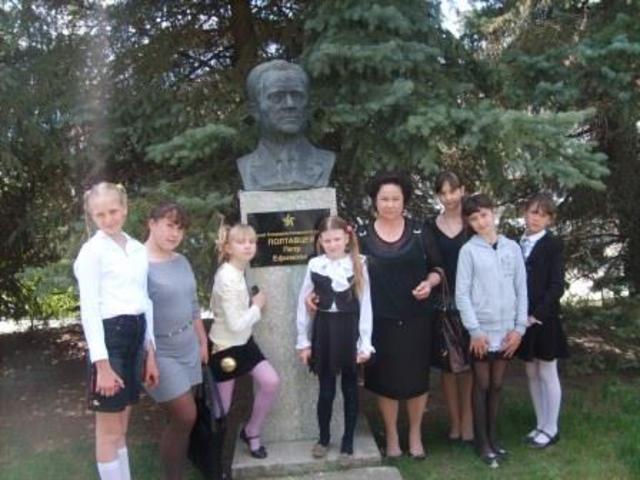 90 лет нашему знатному земляку, Герою Социалистического Труда Петру Полтавцеву