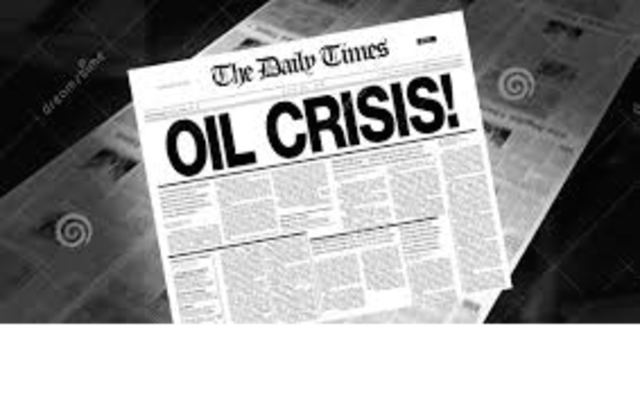 First major oil crisis