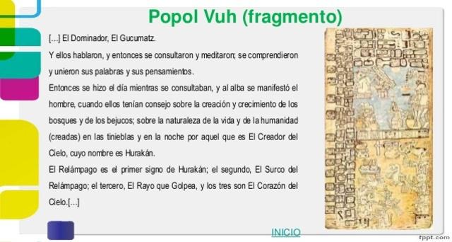 La literatura maya (siglo XV)