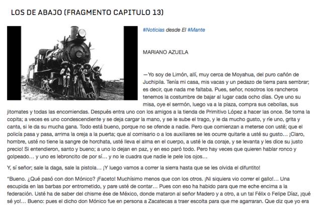 Novelas de la Revolución mexicana (siglo XX)