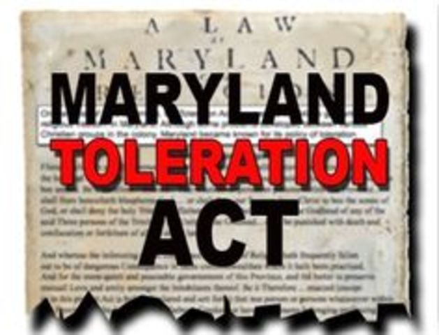 essay on maryland toleration act Need essay sample on period 2 (1607-1754)  in the united states and plays a major role in both the geography and economy of maryland  maryland toleration act.
