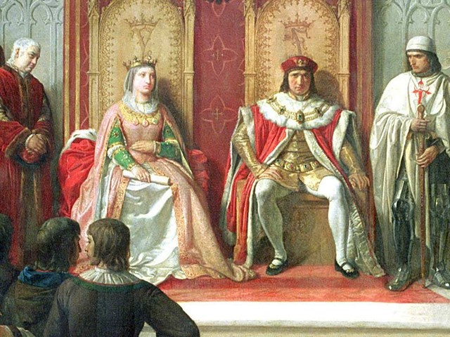 King Ferdinand and Queen Isabella started the Spanish Inquisition