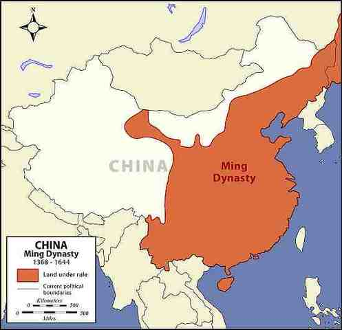 The Ming Dynasty began in China