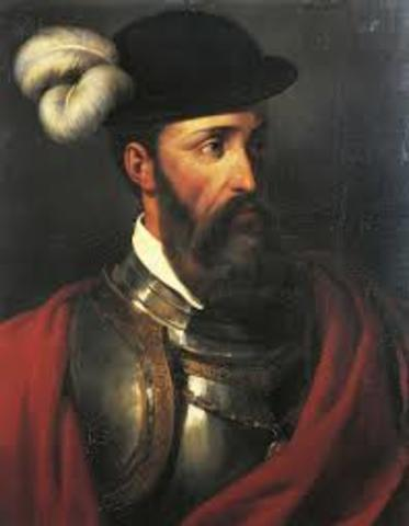 Francisco Pizarro led the defeat of the Incas