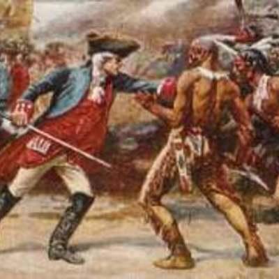 Les relations Franco-amérindien timeline