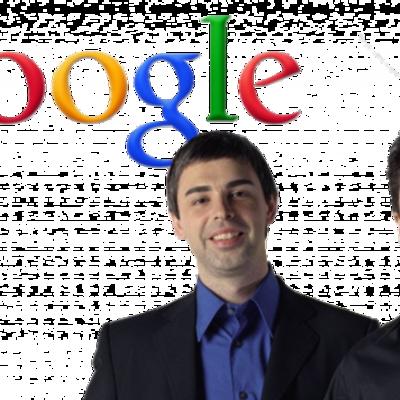 Larry Page y Serguéi Brin timeline