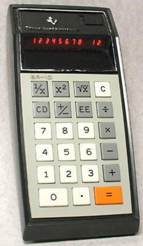 Calculadora científica TEXAS INSTRUMENTS SR-10