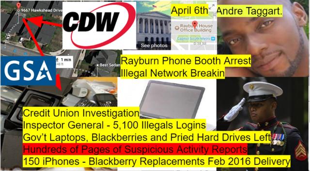 George Webb Discovers Pried Hard Drives, Gov't Laptops/Blackberries