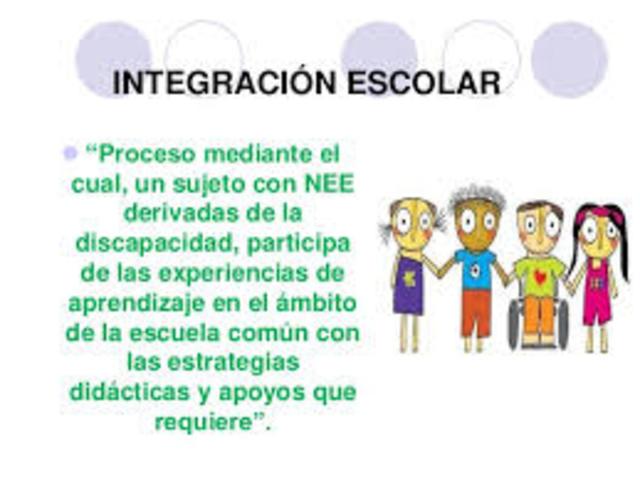 Rasgos definitorios del movimiento de la Integración Escolar (Lou, M.A. y López, N.)