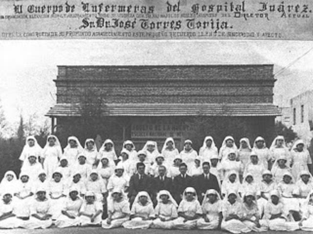 Primera Escuela Enfermeria en Mexico