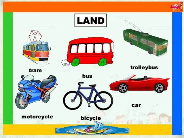 13 Best Photos Of Of Land Transportation Printable