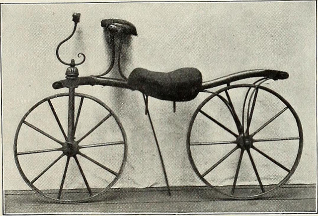 First Bicycle Invented