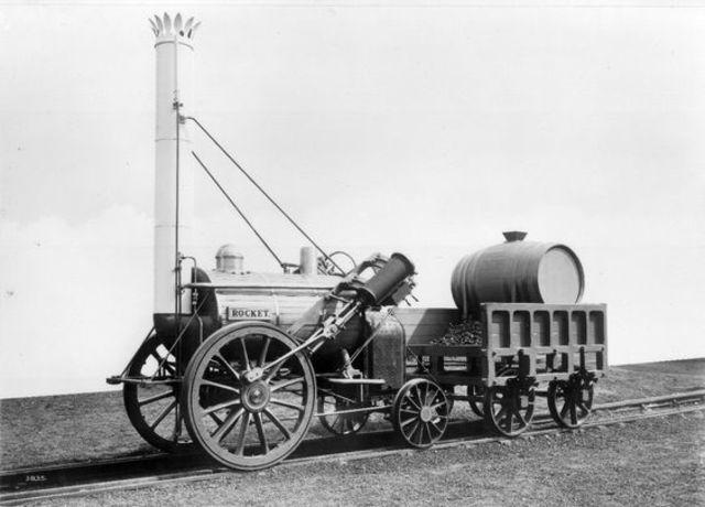 First Train Ever Built