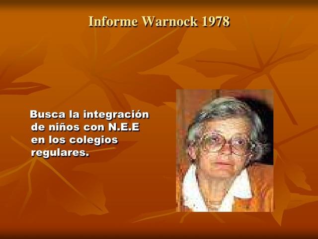 INFORME WARNOCK