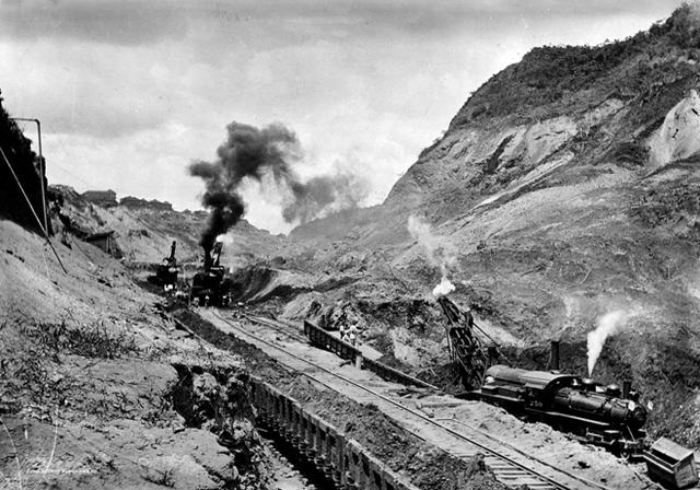 •Panama Canal U.S. Construction Begins