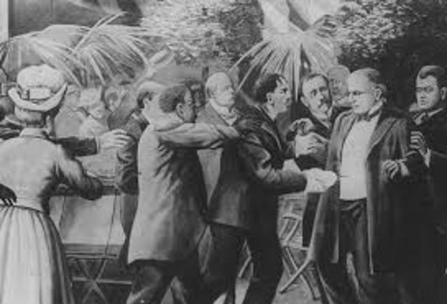 •	Assassination of President McKinley
