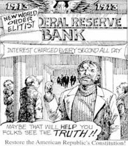 •	Federal Reserve Act