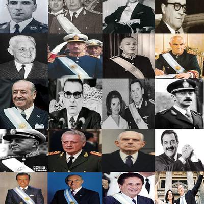Historia Argentina (1955-2015) timeline