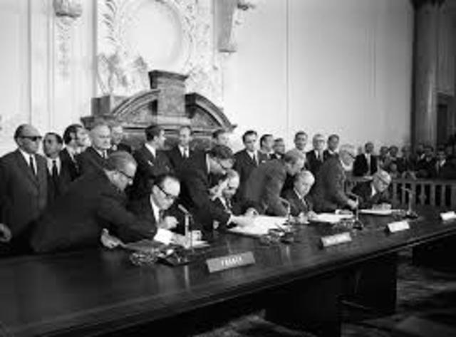 The Four-Power Agreement on Berlin was signed