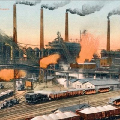 Den industrielle revolution timeline