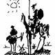 Don quixote (1955) by pablo picasso