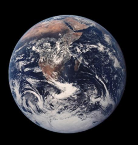 Jorden bildas