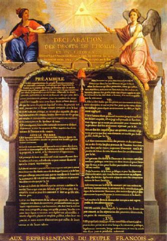 Erklæringen om menneskets og borgerens rettigheter