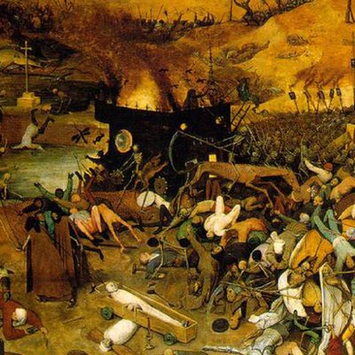 The poisonious moments of the black death timeline