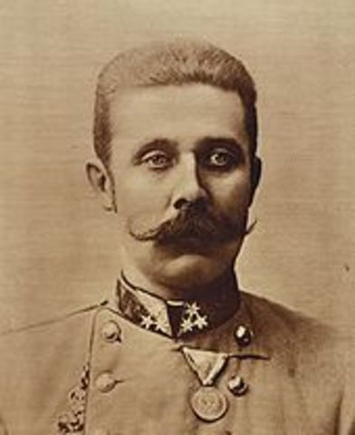 •	Assissination of Archduke Franz Ferdinand