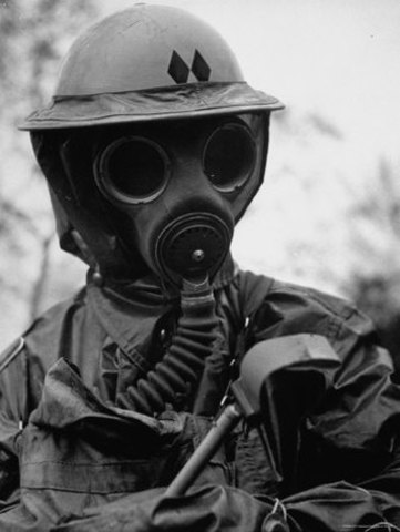 •	Trench Warfare, Poison Gas, and Machine Guns
