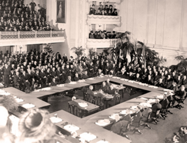•	Treaty of Versailles
