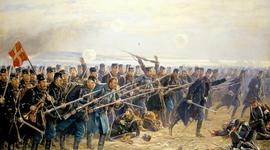 De Slesviske krige timeline
