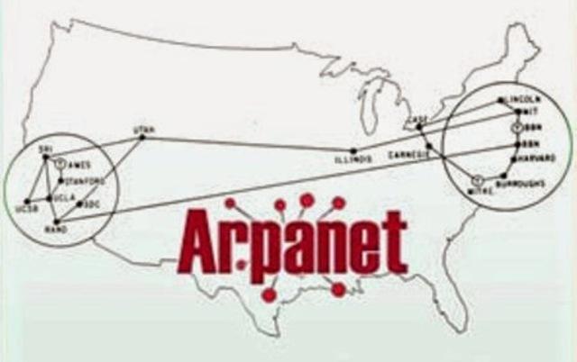1969. Arpanet Ived De Conexión.