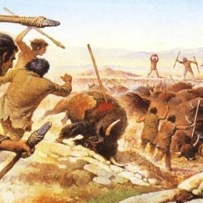 Geschiedenis Tijdbalk 20000 v.C. tot 500 v.C. timeline