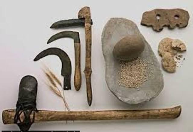 Armas de piedra tallada