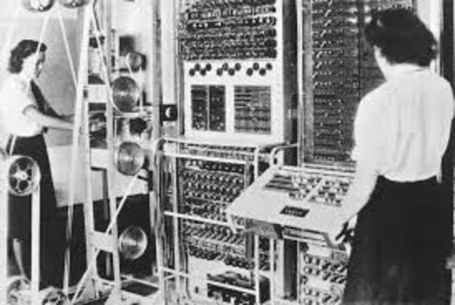 La primera generación  de computadoras.