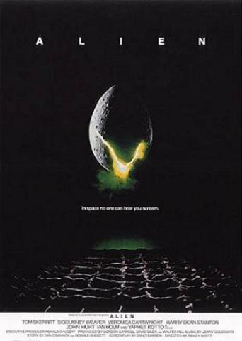 Alien comes out