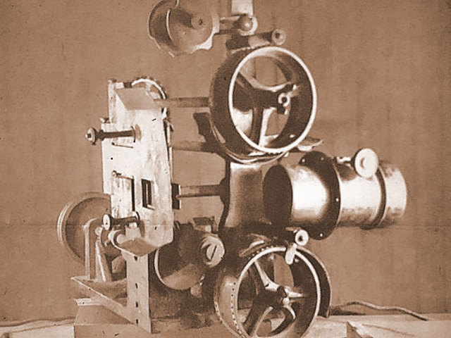 Vitascope projector