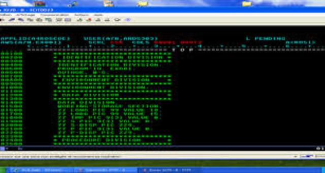 El primer lenguaje programado(Cobol)