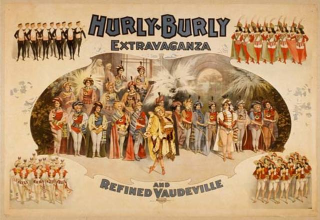 Motion Pictures Introduced to Vaudevilles