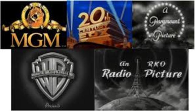The Big five studios
